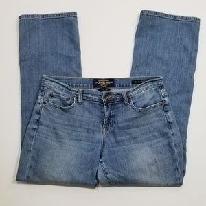Lucky Brand Easy Rider Medium Wash Ankle Jeans
